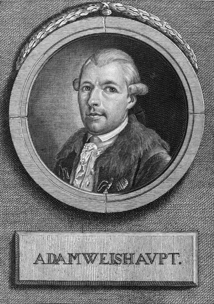 Adam Weishaupt Illuminati Bavarian