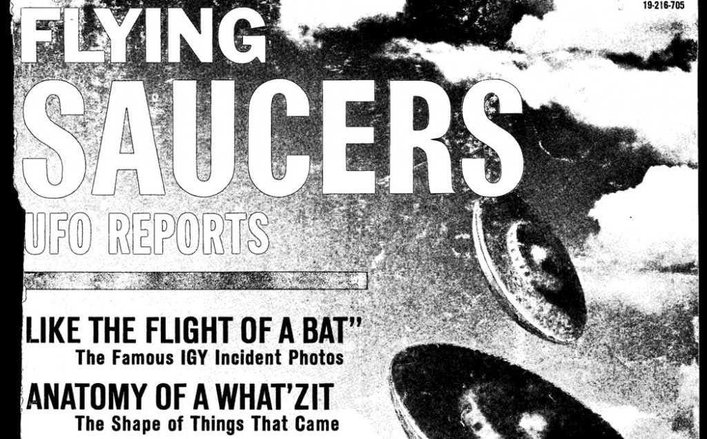 Flying Saucers UFO Reports
