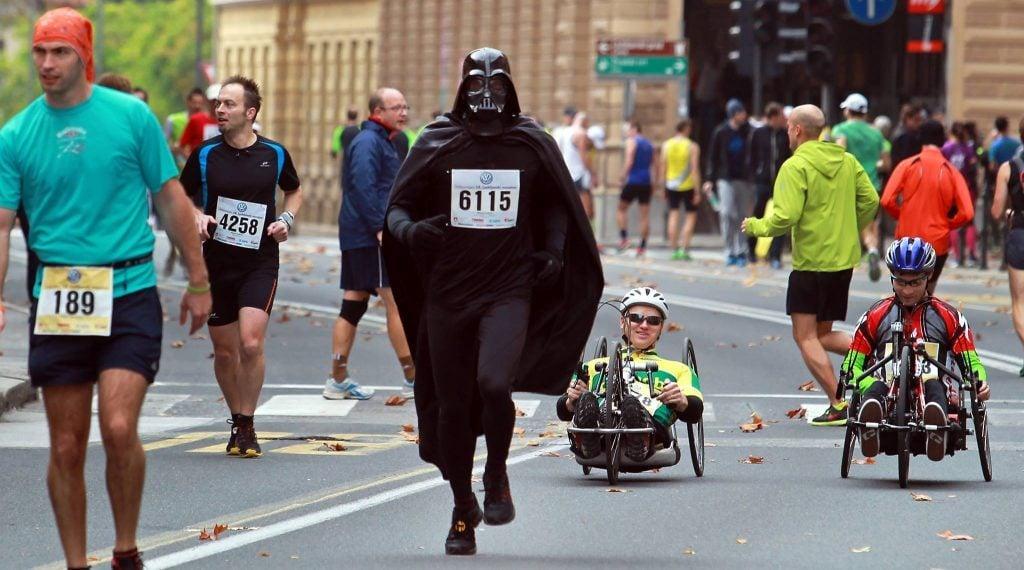 Darth Vader Running