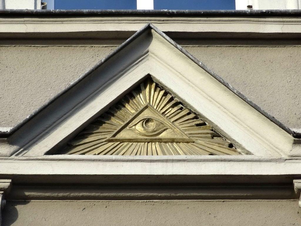 Illuminati Triangle Pyramid