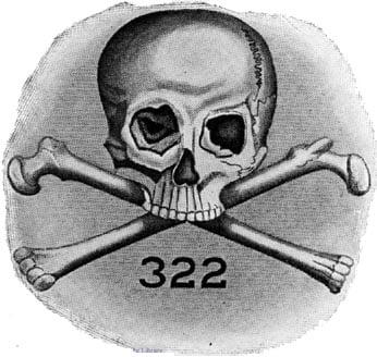 Skull and Bones 322 logo