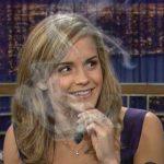 emma watson smoking illuminati signs
