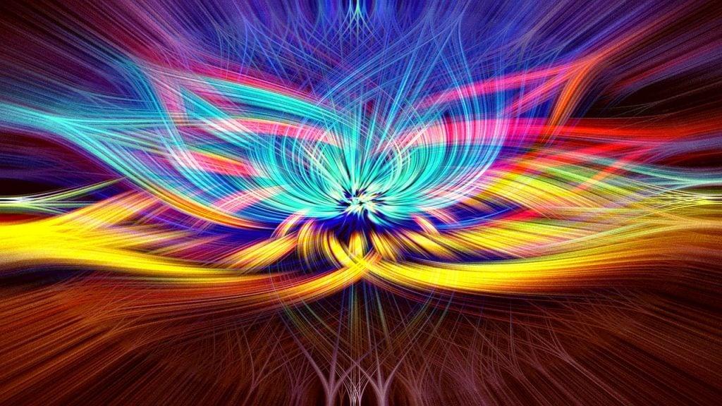 colorful rainbow chakra spirituality