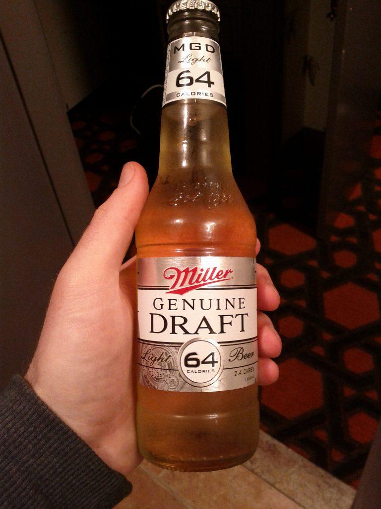 Miller 64 low carb beers