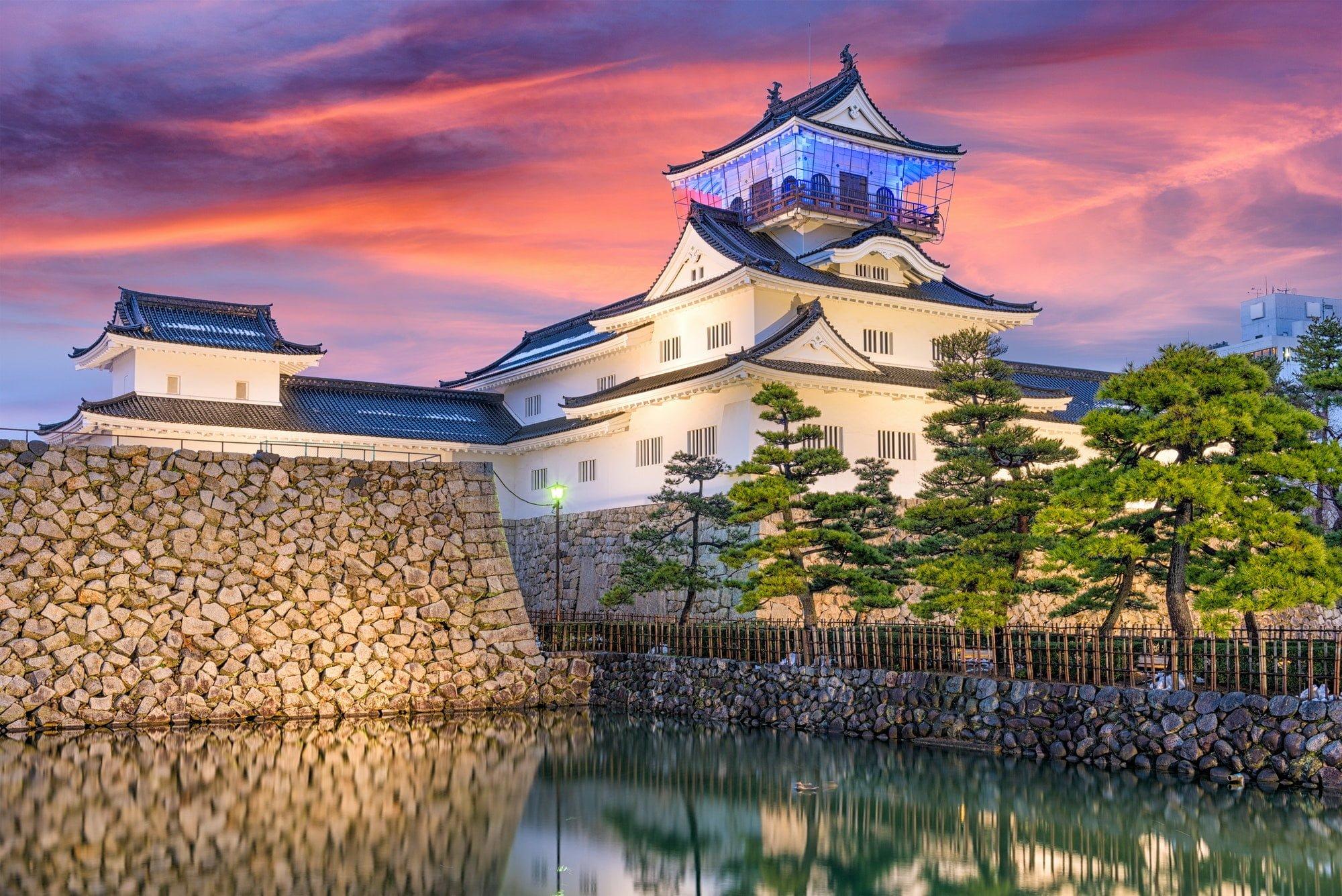 Toyama, Japan Castle