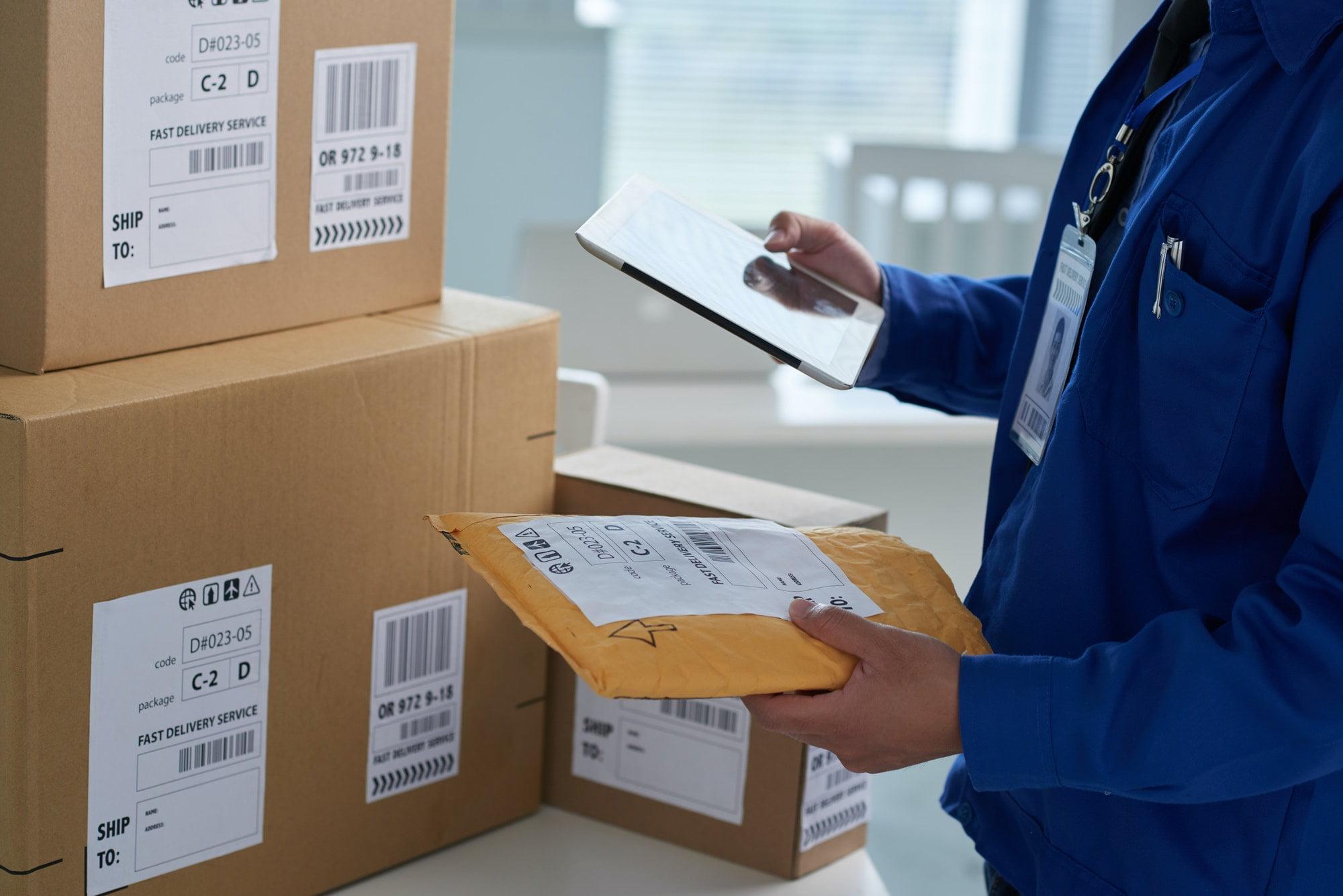 Checkig shipping info
